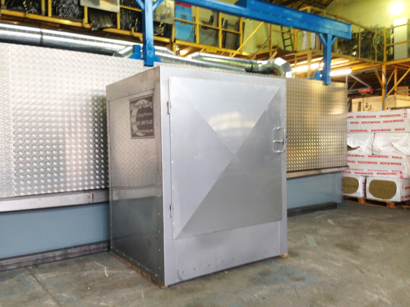 Electric curing oven