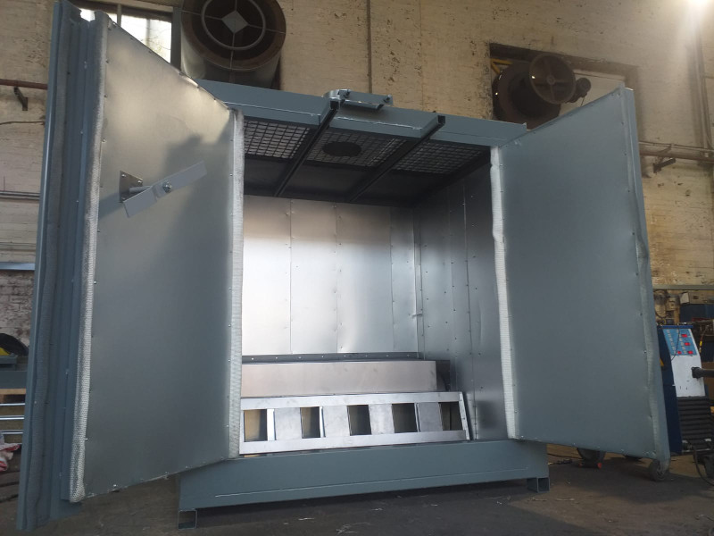 Compact Powder coating oven